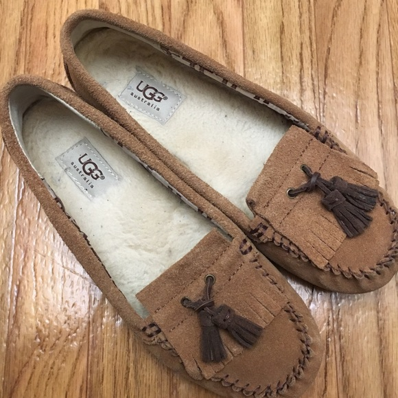 a928bc6f23e UGG Lizzy Moccasin Slippers